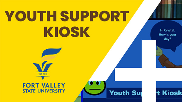 Video of the Youth Support Kiosk presentation